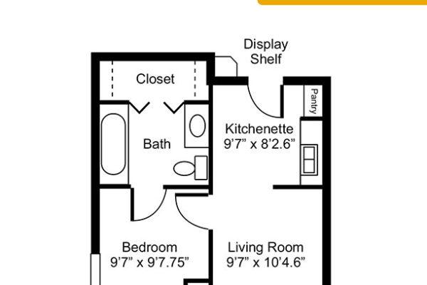 Ironwood – One Bedroom
